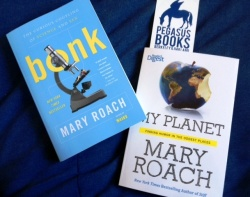Mary Roach book covers